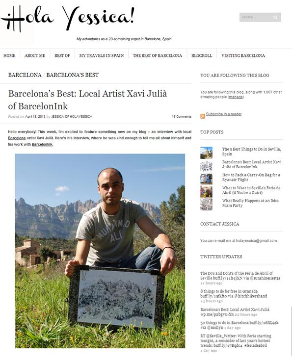 Entrevista con Hola Yessica_un blog de moda en la ciudad de Barcelona