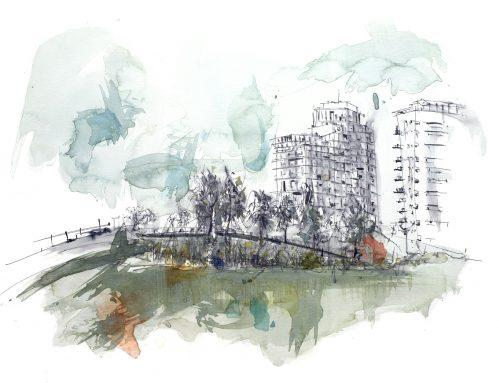 El parque Diagonal Mar, Barcelona