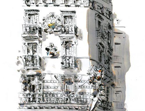 Casa de los paraguas, Barcelona