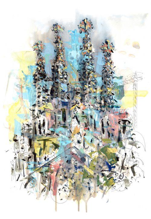Sagrada Familia-Free Style