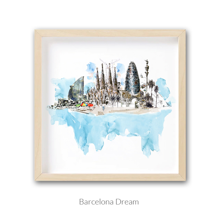 barcelona-dream-enmarcado-texto