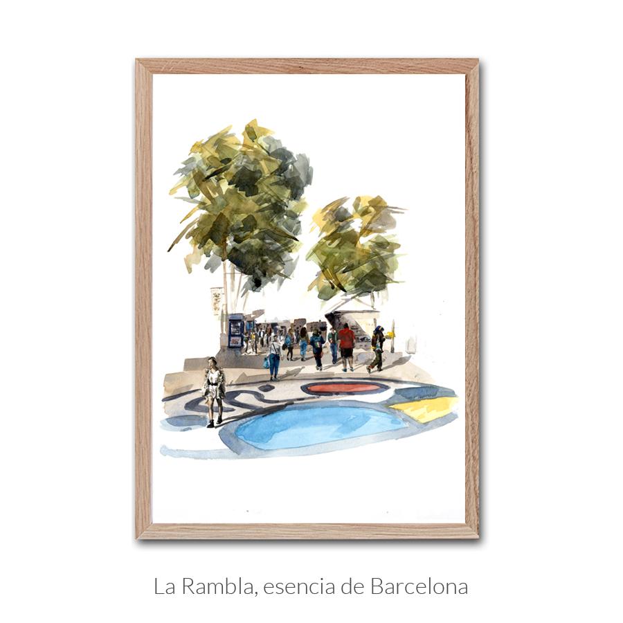 rambla-esencia-barcelona-enmarcado-con-texto