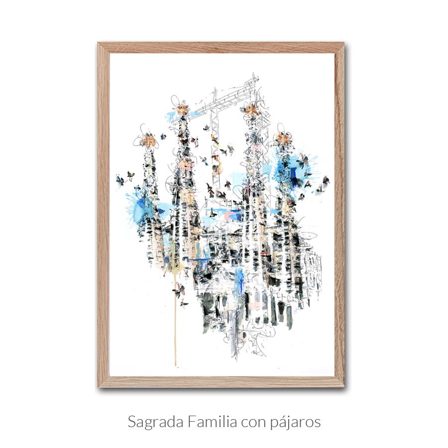 sagrada-familia-pajaros-enmarcado-texto